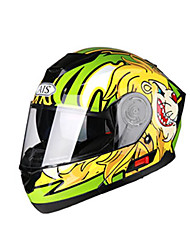 AIS 605 MotorcycleHelmet Full Helmet Built-in radio with Bluetooth headset Helmet Motorcycle Racing With Black Tea Len