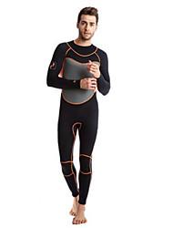 Homme La navigation de plaisance Garder au chaud Résistant aux ultraviolets Nylon Néoprène Tenue de plongée Manches Longues Combinaisons-