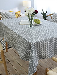 Art  Geometric Cotton And Linen Material Modern Tablecloth 60*60cm