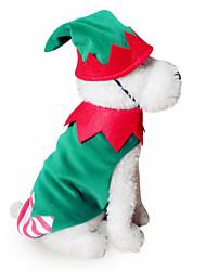Dog Costume Dog Clothes Cosplay Geometric Random Color Orange