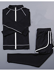 Women's Long Sleeve Running Compression Clothing TracksuitCycling Camping & Hiking Fitness, Running & Yoga Gas leak-proof Help to lose