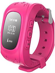 Kid's Smart Watch Digital Rubber Band Black White Blue Green Pink Navy