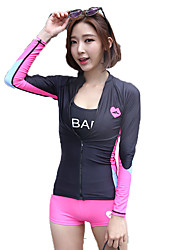 SBART Foreign Trade of The Original Single Women Split Swimsuit Jacket Plus Briefs Two Sets of Tight Wave Diving Suit