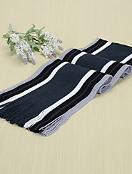 Men Scarf Striped Thickening Lengthening Women's Korea Scarves Shawl Long Rectangle Winter Bohemia Valentine Christmas Boyfriend Gift