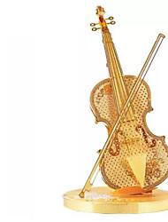 Набор для творчества 3D пазлы Пазлы Металлические пазлы Игрушки Прочее Скрипка 3D Своими руками Не указано Куски