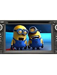Rungrace 2017 6.2inch doble din pantalla táctil coche reproductor de dvd para toyota rl-302wgn02