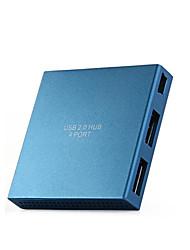 Yuankaida y-x012 hub usb 2.0 480 mbps ad alta velocità 4 porte con cavo 0.6m