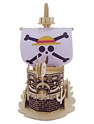 Пазлы Набор для творчества 3D пазлы Пазлы Пазлы и логические игры Строительные блоки Игрушки своими руками Корабль ЖивотныеНатуральное