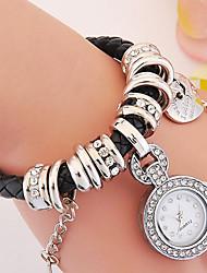 Women's Bracelet Watch Digital Metal Band Black White Silver Red Gold Pink Purple Navy