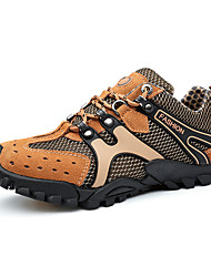 Для мужчин Спортивная обувь Удобная обувь Кожа Замша Тюль Весна Осень Атлетический Повседневные Для пешеходного туризма Удобная обувь