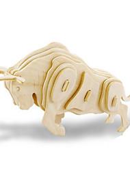 Puzzles Kit de Bricolage Puzzles 3D Blocs de Construction Jouets DIY  Animal Bois