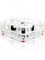 Дрон M77 4 канала - LED Oсвещение Квадкоптер Hа пульте Yправления USB кабель лопасти