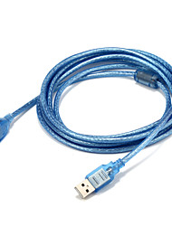 USB 2.0 Адаптер, USB 2.0 to USB 2.0 Адаптер Male - Female 3.0M (10Ft)