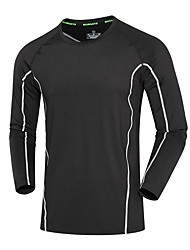 Homme Course / Running Shirt Course Eté Vêtements de sport Course