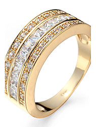 Ring Settings Ring  Luxury Elegant Noble Zircon  Women's  Crown Rhinestone Euramerican Fashion Birthday Wedding Movie Gift Jewelry