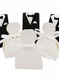 50pcs bride and groom wedding favors box candy box gift box wedding decoration party supplies