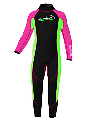 SLINX Kid's Unisex 2mm Full Wetsuit Thermal / Warm Neoprene Diving Suit Long Sleeve Diving Suits Clothing Suits-Swimming DivingSpring