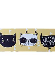 Tapete do rato do gato fresco impermeável do estilo do desenho animado tapete do rato do jogo 40cm * 90cm