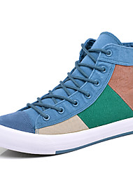 New Brand Men's Trainers Fashion Sneakers Hight Top Canvas Casual Breathable Board Shoes