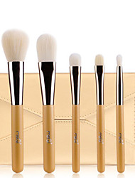 MSQ® 5pcs Makeup Brushes set Hypoallergenic/Limits bacteria Fiber Golden Blush brush Eye Shadow  Brush Makeup Kit Cosmetic Brushes