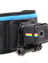 TELESIN Adjustable Waist Belt Strap with Frame Mount for Polaroid Cube and Cube  Compatible With All Gopro Camera Accessor Kit
