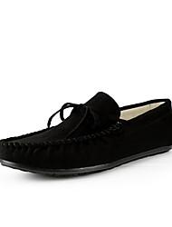 Masculino Sapatos de Barco Conforto spandex Outono Inverno Casamento Casual Festas & Noite CaminhadaCinzento Marron Amarelo Terra Verde