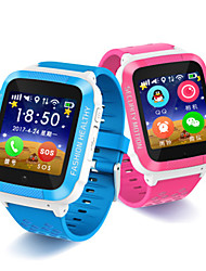 Kinder Smart Uhr digital Caucho Band Blau Rosa