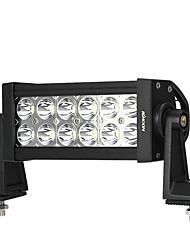 Kkmoon 36w led car work light 6.3 inch 2700lm spot beam bar для джипа 4x4 offroad atv truck suv 12v 24v
