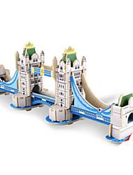 Puzzles Kit de Bricolage Puzzles 3D Blocs de Construction Jouets DIY  Architecture Bois