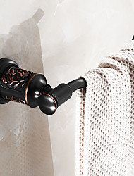 Towel Ring / Oil-rubbed Copper Brass