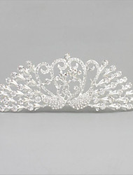 The Crown Jewels Of The Bride's Crown Are Decorated With Wedding Accessories