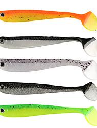 """10 pcs Señuelos blandos / Vinilos g/Onza,110 mm/4-1/3"""" pulgada,Plástico blandoPesca de Mar Pesca al spinning Pesca jigging Pesca de agua"""