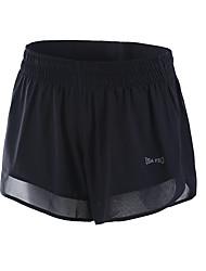 Women's Running Shorts Fitness, Running & Yoga Shorts for Running/Jogging Yoga Exercise & Fitness Loose Black
