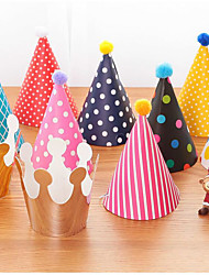 11pcs/set DIY Birthday Hat Birthday Party Decorations Kids Party Hats Festive Party Photograph Party Favors Supplies