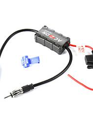 veículos auto-rádio fm antena detonadora amplificador de sinal para ambos sou e estações de rádio FM.