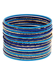 Women's Bangles Wrap Bracelet Fashion Punk Rock Metal Alloy Alloy Circle Jewelry ForParty/ Evening Outdoor clothing Date Birthday Party