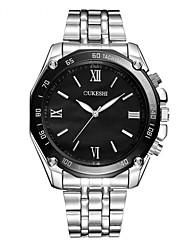 Hombre Reloj de Vestir Reloj de Moda Reloj Casual Simulado Diamante Reloj Reloj de Pulsera Reloj creativo único Chino Cuarzo Esfera Grande