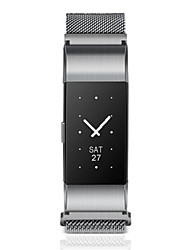 Women's Men's Fashion Watch Digital Stainless Steel Band Black Silver
