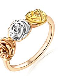 Mulheres Encaixe do Anel Anéis Grossos AnelBásico Original Floral Amizade Adorável Personalizado Estilo bonito Euramerican Jóias filme