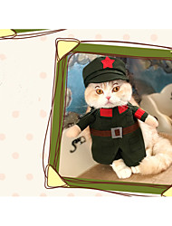 Cat Dog Costume Dog Clothes Cosplay Sailor Jade Blushing Pink Ruby White