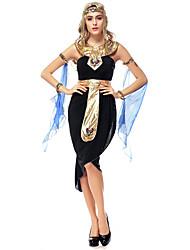 Une Pièce/Robes Reine Conte de Fée Déesse Costumes égyptiens Fête / Célébration Déguisement d'Halloween Rétro Other Robe Ceinture Coiffure