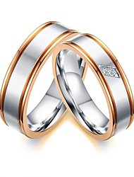 Couple's Ring Euramerican Fashion Personality Ladies Simple Rings Casual Unique Elegant Charm Jewelry Men Finger Rings Women 6 to 9 Men 9 to 12 Size