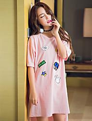 Chemises & Blouses Body Vêtement de nuit Femme,Imprimé Imprimé
