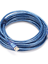 USB 2.0 Cable, USB 2.0 to USB Type B Cable Male - Male 10.0m(30Ft)