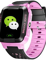 Kid's Smart Watch Fashion Watch Digital Silicone Band Blue Pink