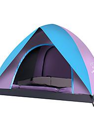 3-4 personnes Tente Double Tente automatique Tente de camping Oxford Chaud Pare-vent Etanche Respirable Ecran Solaire Protection Solaire-