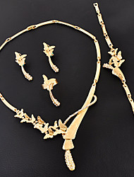 Damen Halskette Ohrring Armband Strass Basis Modisch individualisiert Euramerican Zum Selbermachen Luxus-Schmuck Britisch Klassisch