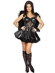 Costumes de Cosplay Costume de Soirée Ange et Diable Cosplay Fête / Célébration Déguisement d'Halloween Autres Rétro Robes AilesHalloween