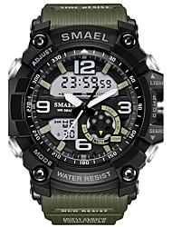 Муж. Детские Спортивные часы Армейские часы Модные часы электронные часы Японский ЦифровойКалендарь Секундомер Защита от влаги Хронометр