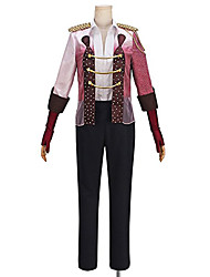 Inspired by YURI!!! on ICE Victor Nikiforov Viktor Nikiforov Anime Costumes Cosplay Suits Patchwork Coat Shirt Pants For Unisex